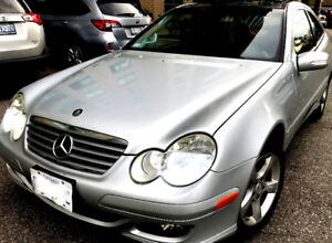 2005 C230 Kompressor ,panoramic ,winter tires,Safety valid today