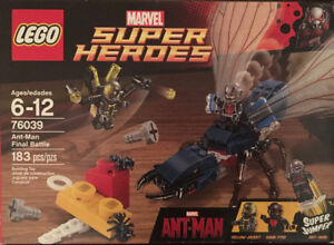 Lego 76039 Ant-Man Final Duel