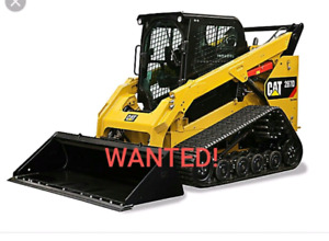 Wanted   Track skid steer