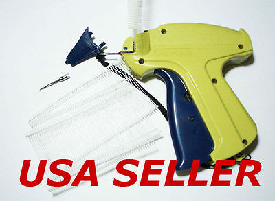 2 Garment Price Label Tag Tagging Guns With 2000 Barbs And 2 Extra Needles