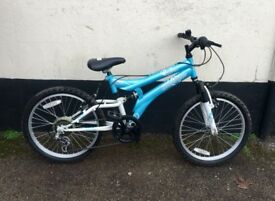 GIRLS SILVERFOX MOUNTAIN BIKE