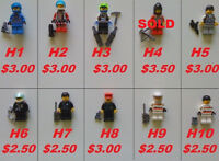 Lego Figures, New & Used -- #1 --