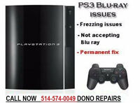 PS3/PS4 REPAIR REPARATION - BLOD - YLOD - BLU RAY – FIX