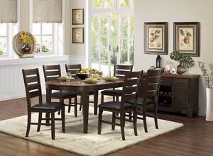 Brand New 7 pce Grunwald Dining Suite ( Extension Dining Table) Wangara Wanneroo Area Preview