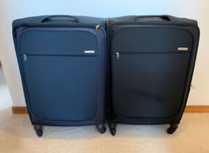 "LUGGAGE -  PAIR OF SAMSONITE 29"" SOFTSIDED SPINNERS"