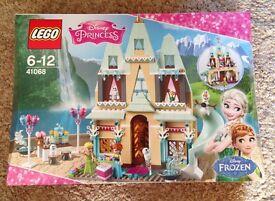 Lego Frozen Arendelle Castle Celebration and Elsa's Ice Palace New