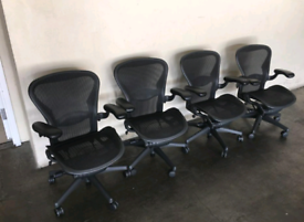 Herman Miller Aeron Size B fully loaded (20 availabile)