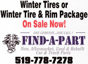 Winter tires and winter tire & rim packages now on sale Kitchener / Waterloo Kitchener Area image 1