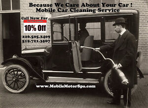 Mobile Car Cleaning Service!