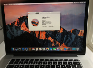 "Late 2013 15.4"" 1TB/16GB MacBook Pro w Apple Care Bought 2014-06"