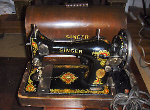 Electric Singer heavy duty sewing machine