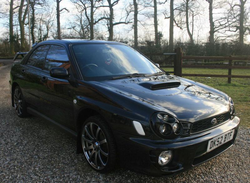 2002 52 subara impreza 2 0 wrx turbo 4dr awd petrol manual saloon fsh in chelmsford essex. Black Bedroom Furniture Sets. Home Design Ideas