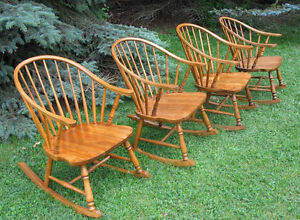 Antique & Modern Rocking Chairs / Rockers, Mostly Refinished