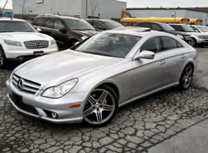 2011 MERCEDES BENZ CLS550 AMG PACKAGE  NAVIGATION ACCIDENT-FREE 