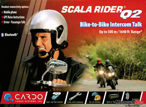 Cardo - Scala Rider Q2 - Communication System