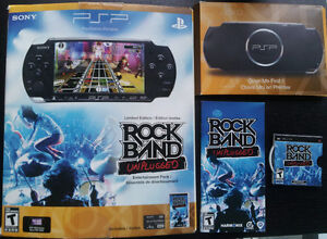 Sony PSP 3000 Series | Mint Condition | Rock Band UMD game