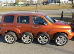 """TWO (2) ... Chevy HHR ...""""LT""""...... 124,249 kms ....... smart TV"""