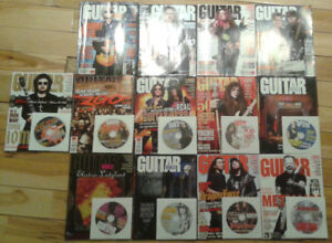 Guitar World Magazines (2008 Series, 13 total, 9 CD's included)