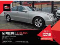 2003 Mercedes-Benz E Class 3.2 E320 TD CDI Avantgarde 4dr