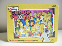 The Simpsons Group Photo Game in Tin Box 100% Complete