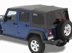 JEEP WRANGLER SOFT TOP complete Top & Windows 2007-2016 Models London Ontario image 1
