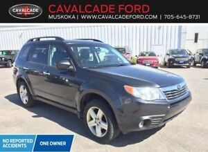 2010 Subaru Forester 2.5X Limited at