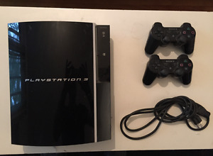 PERFECT CONDITION PS3 WITH TWO CONSOLES-$150