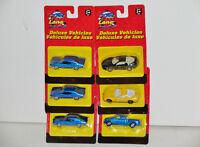 Fast Lane Chevelle, Camaro, Corvette, Pickup 1:64 Diecast Set