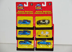 Fast Lane Chevelle, Camaro, Corvette, Pickup 1:64 Diecast Set