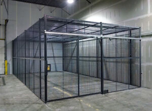 WELDED WIRE MESH INDUSTRIAL PARTITIONS | ALL SHAPES & SIZES Kitchener / Waterloo Kitchener Area image 2