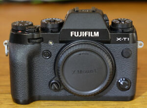 Fuji X-T1 body + Extras  ( and optional lenses )
