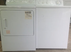Washer & electric Dryer..