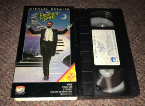 RARE 1981 VHS Cult Comedy The Elephant Parts Michael Nesmith