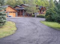 RECYCLED ASPHALT DRIVEWAY - SAVE MONEY!
