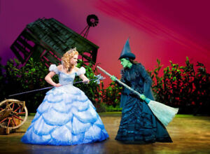 WICKED musical Saturday July 21 - 1 MEZZ Ticket