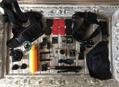 GoPro HERO3 White Edition CHDHE-301 Camera + Lots Of Accessories