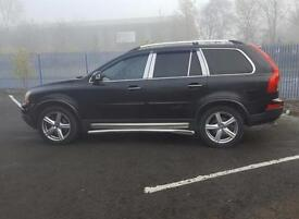 Volvo XC90 2.4 AWD Geartronic 2007 Automatic Diesel 4x4 D5 SE Sport In Black