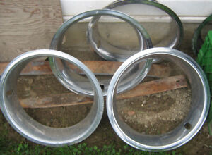 4  Trim rings / Beauty rings ,    Stainless . -