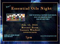 Essential Oils Night