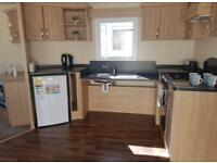 Accessible sited caravan for sale with ramp. Shanklin, Isle of Wight