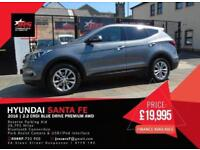 2016 Hyundai Santa Fe 2.2 CRDi Blue Drive Premium 4WD 5dr (ISG, 7 seats)