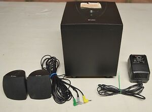 Labtec Subwoofer with Two Labtec Speakers & Class 2 Transformer