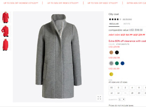 J. Crew coat brand new with tag 00P