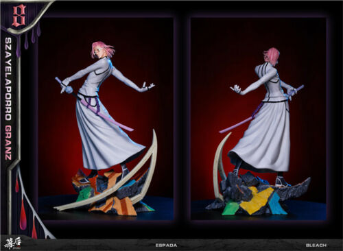 BLEACH SzayelAporro·Granz Statue Resin Figure Model Kit GK MH Studio EX 1/8