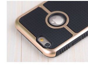 BLACK GOLD RING HYBRID HEAVY DUTY SHOCKPROOF CASE / IPHONE 6, 6+ Regina Regina Area image 5