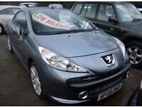 Peugeot 207 CC 1.6 THP 150 Coupe GT Convertible.