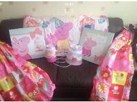 Peppa Pig bedroom bundle