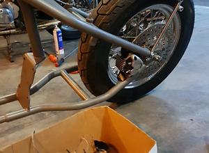 Motor cycle repair
