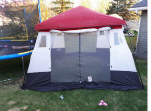 tent with multiple uses