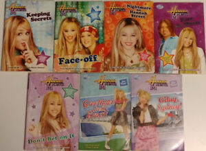 Hannah Montana Lizzie McGuire Mary Kate & Ashley books & dvds